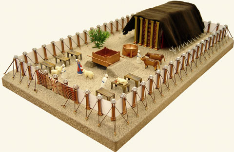 Image result for The tabernacle courtyard